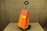 Shopping Trolley Bag Ideal Step Orange Fourth Depiction
