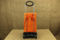 Shopping Trolley Bag Ideal Step Orange Sixth Depiction