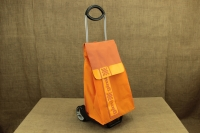 Shopping Trolley Bag Ideal Step Orange Eighth Depiction