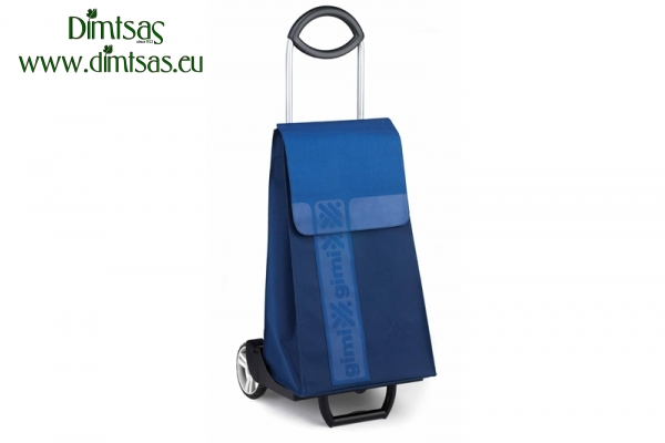 Shopping Trolley Bag Ideal Step Blue