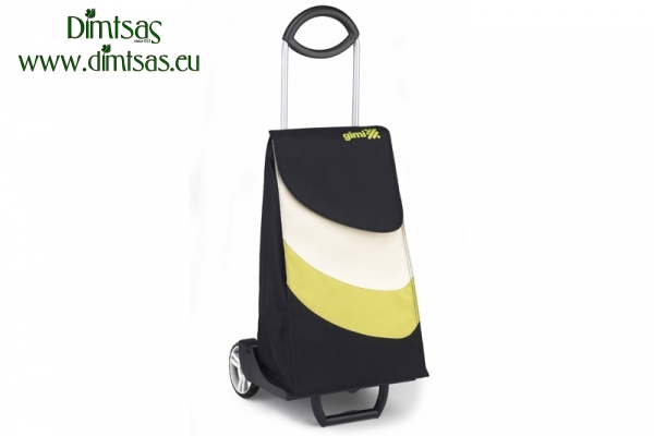 Shopping Trolley Bag Easy Go Black