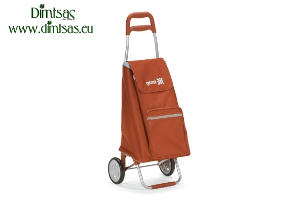 Shopping Trolley Bag Argo Brick Red