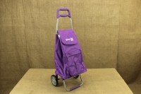 Shopping Trolley Bag Argo Violet Eighth Depiction