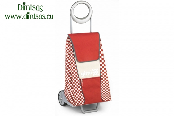 Shopping Trolley Bag Extro Brick Red