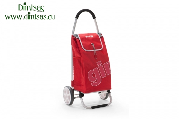 Shopping Trolley Bag Galaxy PVC Red