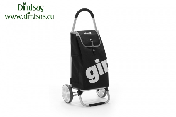 Shopping Trolley Bag Galaxy PVC Black