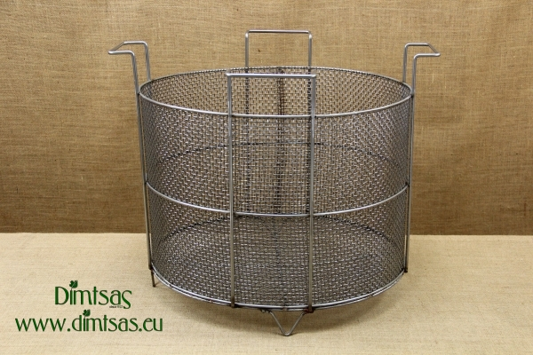 Frying Basket Professional Stainless Steel for Stock Pot 100 liters