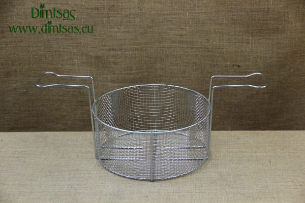 Frying Basket Stainless Steel No37 for Professional Fryer Pot No40