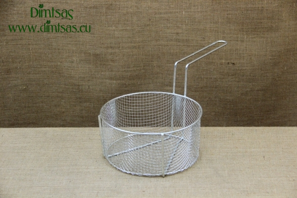 Frying Basket Tinned No29 for Professional Fryer Pot No32 with Long Handle