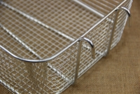 Frying Basket Professional Rectangular Tinned No1 Fifth Depiction