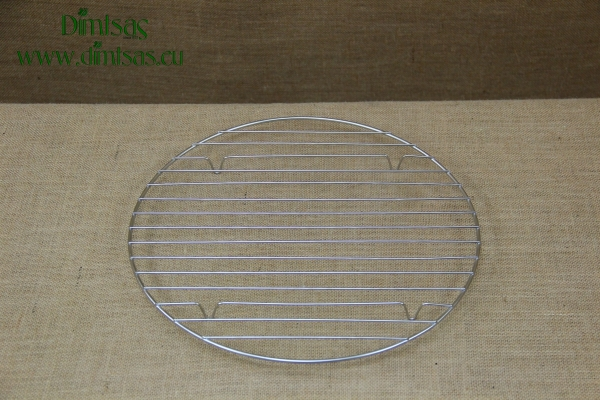 Round Stainless Steel Grill Cooking Grates 35 cm