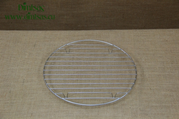 Round Stainless Steel Grill Cooking Grates 31 cm