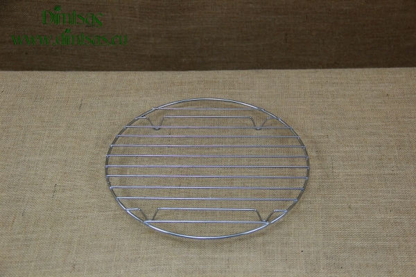 Round Tinned Grill Cooking Grates with Stable Legs 29 cm