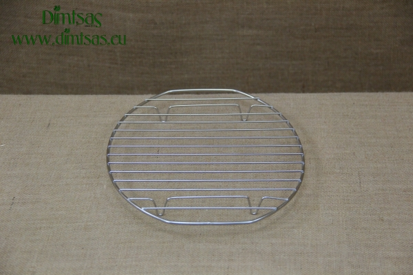 Oval Stainless Steel Grill Cooking Grates with Stable Legs 32 cm