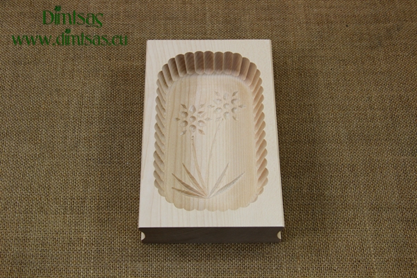 Butter Mould Wooden 400 gr No2