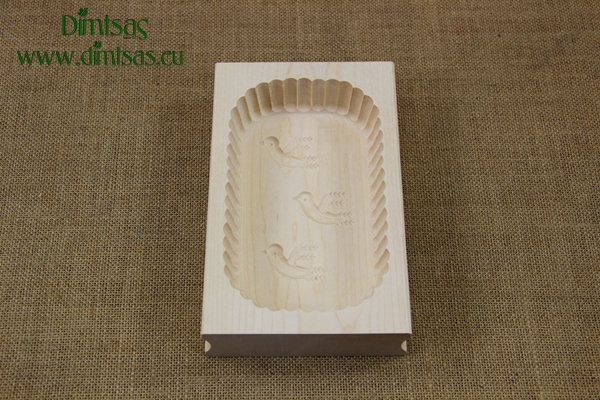 Butter Mould Wooden 400 gr No4