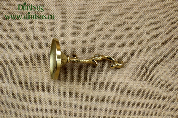 Bronze Wall Hook for Hanging Vigil Lamp No1