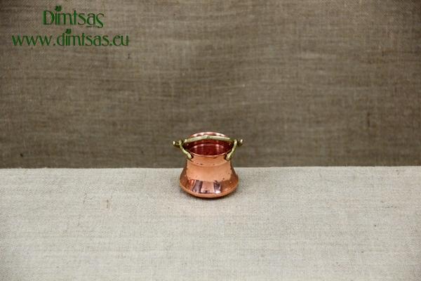 Σαχανάκι Χάλκινο με Μπρούτζινο Χερούλι Νο31