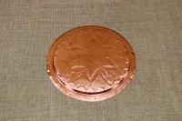 Copper Serving Tray Round Engraved No22 First Depiction