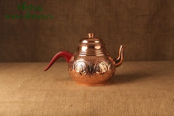 Τσαερό Τούρκικο Χάλκινο με Πλαστικό Χερούλι Νο2