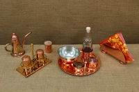 Copper Set for Salt & Pepper with Stand Tenth Depiction
