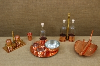 Copper Set for Salt & Pepper with Stand Eleventh Depiction