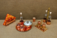 Copper Set for Salt & Pepper with Stand Fourteenth Depiction