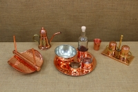 Copper Set for Salt & Pepper with Stand Seventh Depiction