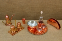 Copper Set for Salt & Pepper with Stand Ninth Depiction