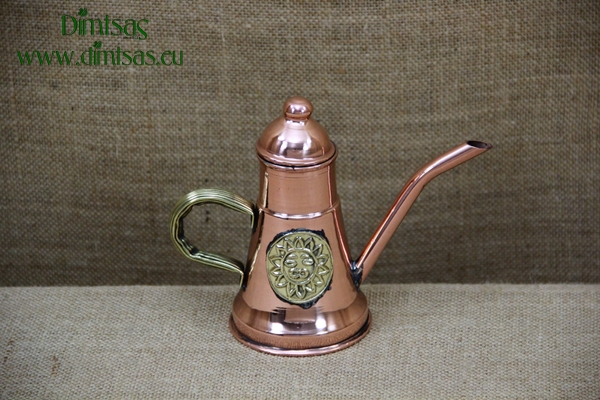 Copper Olive Oilcan