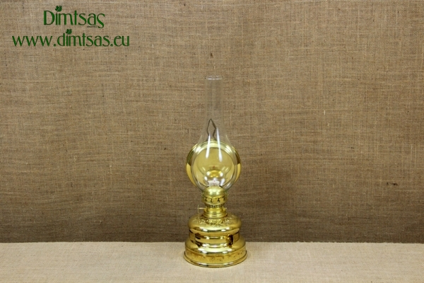 Brass Hanging Oil Lamp Engraved