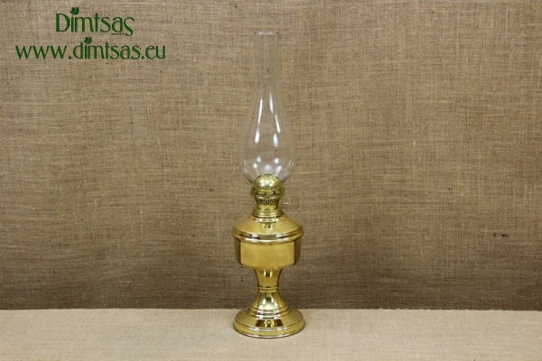 Brass Oil Lamp Tabletop No1