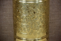 Brass Umbrella Stand Cylinder Engraved Fifth Depiction