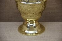 Brass Vase Engraved No1 Third Depiction