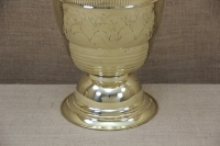 Brass Vase Engraved No2 Third Depiction