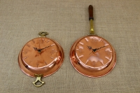 Copper Wall Clock Frying Pan with Handles Fourth Depiction