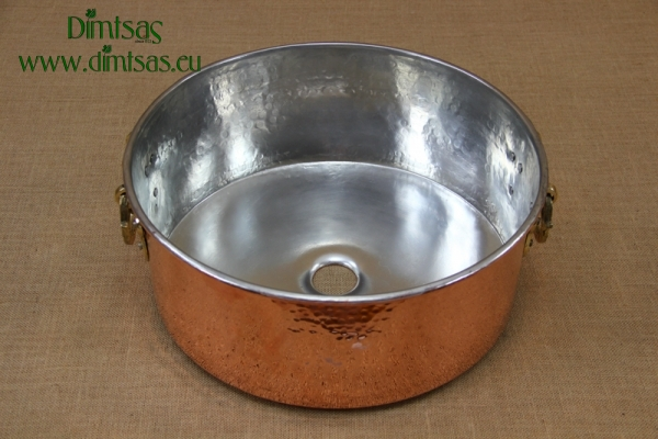 Copper Wash Basin with Handles