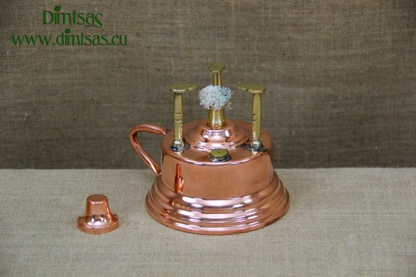 Antique Copper Camping Stove