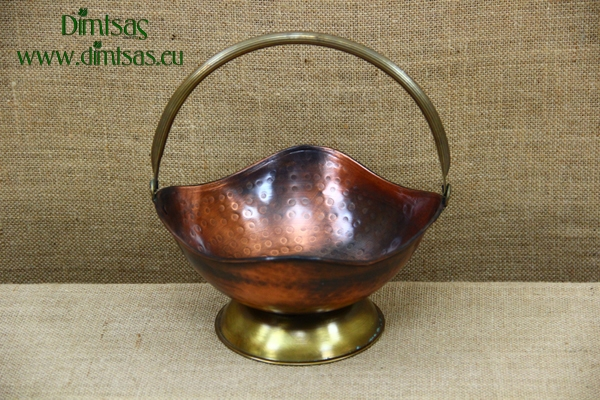 Copper Sweet Bowl Antique No2