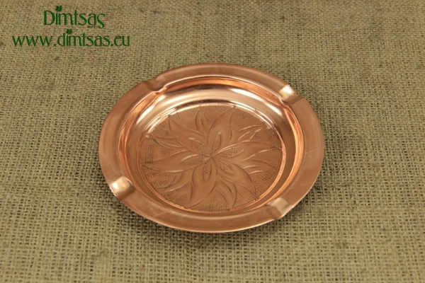 Copper Ashtray Engraved