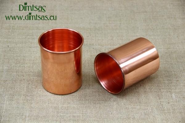 Copper Glass Straight 400 ml