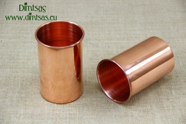 Copper Glass Straight 480 ml