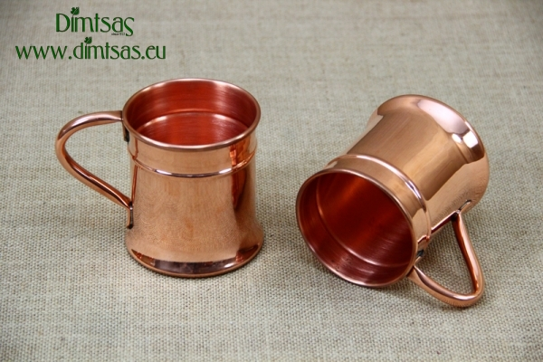 Copper Glass King with Handle 400 ml