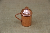Copper Glass Straight with Handle 400 ml Third Depiction