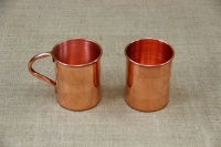Copper Glass Straight with Handle 400 ml Fifth Depiction
