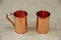 Copper Glass Straight with Handle 480 ml Fifth Depiction