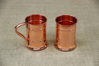 Copper Glass Straight with Handle 480 ml Seventh Depiction