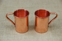 Copper Glass Straight with Handle 600 ml Fourth Depiction