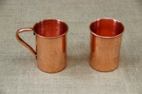 Copper Glass Straight with Handle 600 ml Fifth Depiction
