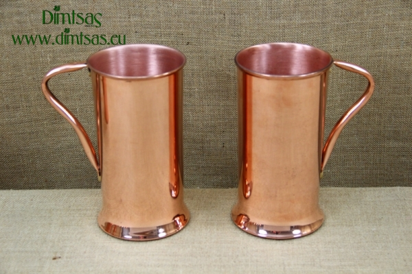Copper Jug with Handle 2 Liters